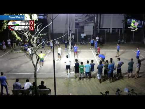 Volleyball Semi Finals | India vs Nepal | Mini Olympics (Jan'16)