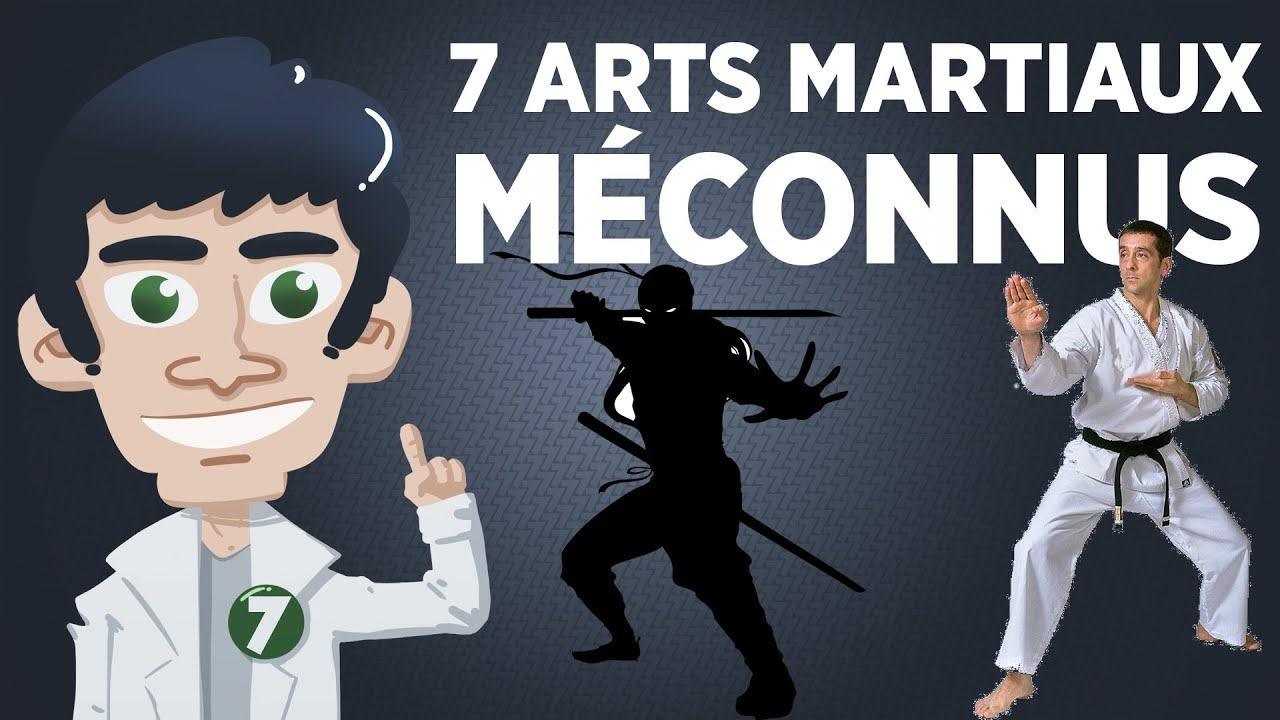 7 arts martiaux m connus best of youtube for Art martiaux