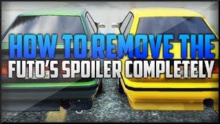 GTA 5: How To Remove Futo Spoiler Completely ( No Black Lip Spoiler )