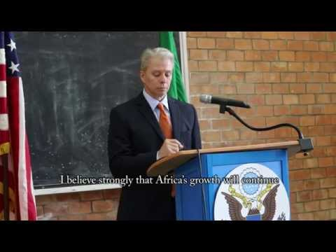 Ambassador Schultz Lays Out His Vision to the Zambian Public