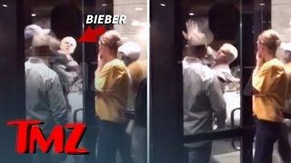 Justin Bieber Fist Fight Video!