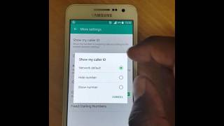 SAMSUNG A3, A5, A7, ANDROI: UNABLE TO DIAL OUT..CALL ENDED
