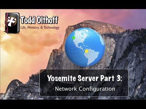 OS X Yosemite Server Part 3: Network Configuration