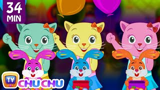 Three Little Kittens Went To The Fair | Nursery Rhymes Collection by Cutians | ChuChu TV Kids Songs