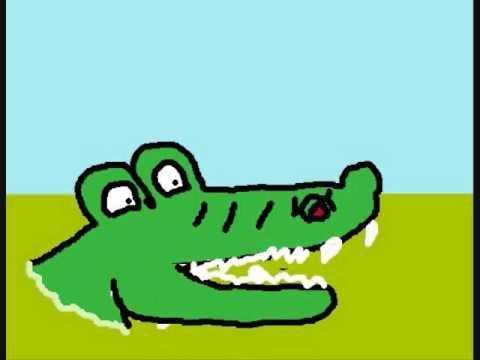 My corny Alligator cartoon - YouTube - photo#39