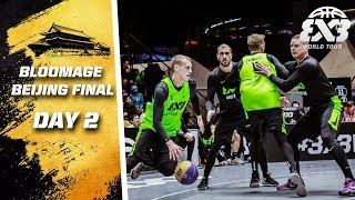 RE-LIVE | FIBA 3x3 World Tour 2018 - Bloomage Bejing Final | Day Two