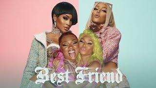 Saweetie - Best Friend feat. Doja Cat, Nicki Minaj & Megan Thee Stallion MASHUP