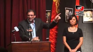 خالد يوسف: خالد صالح إنسان نادر الوجود