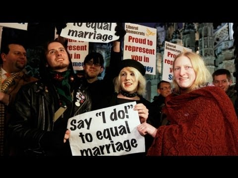 UK same-sex marriage law moves one step closer