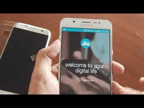 How To Use Activated Jio Sim  Under  Samsung Jio Preview Offer On Samsung J7 2016(New)?