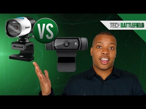 Microsoft Lifecam Studio vs Logitech HD Pro Webcam C920