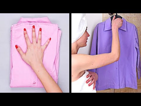DIY Clothing Hacks | Clever Ways To Get Organized and More Cleaning Ideas by Blossom