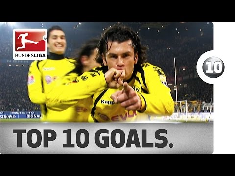 Rosicky, Son, Calhanoglu & More - Best Goals in Dortmund vs. Hamburg