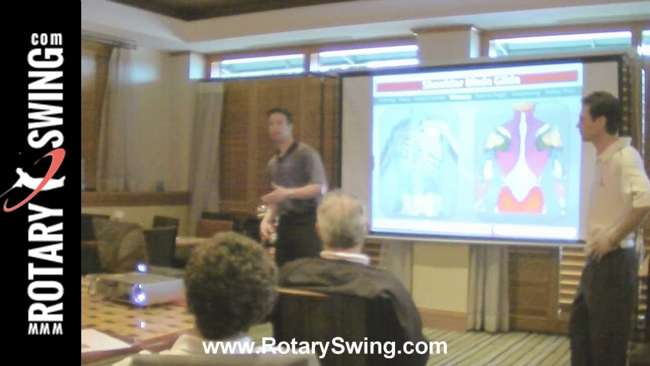 rotary swing golf instruction video