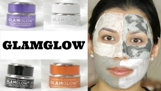 GlamGlow Treatments   Review & Demo   4 Masks!