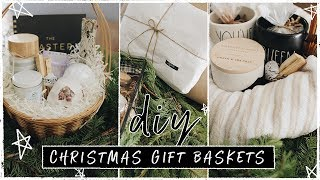 DIY Christmas Gift Basket Ideas for Friends!