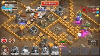 Castle Clash Tutorial: D4S1 GA/RESTORATION