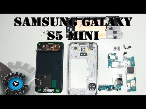 Samsung Galaxy S5 MINI Aufschrauben Disassembly & Teardown [Deutsch/German]