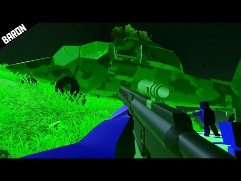 Night Vision is EPIC -  Ravenfield Night Battle Gameplay