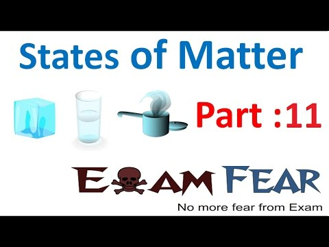 Chemistry States of Matter part 11 (Ideal gas law) CBSE class 11 XI
