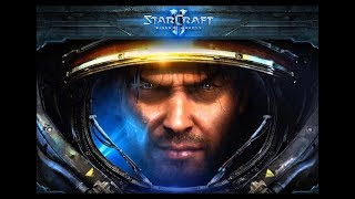 Стрим StarCraft II Рвёмся в топ бронзы на балдежках)))