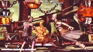 How to Start teams with 3 bars of Power (X-ray Attack)- mkx mobile ios