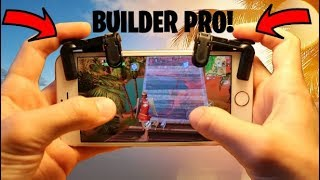 FORTNITE MOBILE BUILDER PRO!!