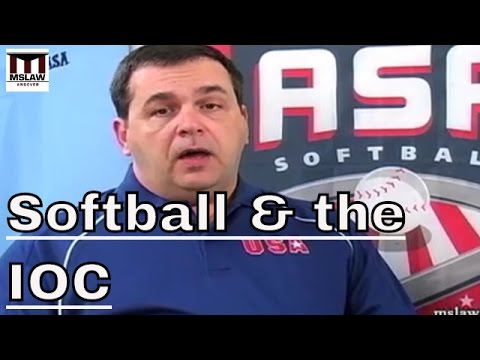 Cutting Softball - The IOCs Decision And Its Affect On Athletes.