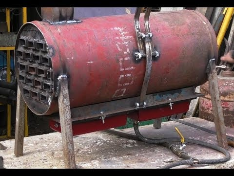 Теплообменник для отопления небольшой мастерской. 2 часть.