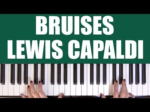 Dorable Bruises Chords Composition - Beginner Guitar Piano Chords ...