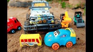 Ô tô con cứu hộ xe jeep - đồ chơi ô tô trẻ em T03 ZinZin Cars Toys