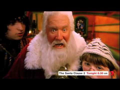 Santa Clause 2 - Friday 14 December at 8:30pm