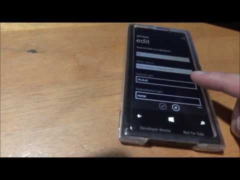 Straight Talk AT&T LTE APN & MMS Settings on Windows Phone with