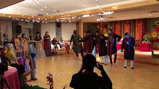 Adnan & Erum Mehndi Dance