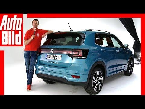 VW T-Cross (2018) Vorstellung / Sitzprobe / Review
