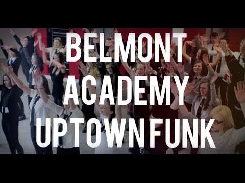 Belmont Academy does Uptown Funk