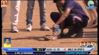 Shown rescue Snake  in between  match   | Late Gopal Naik SmurtiChashak 2016  live