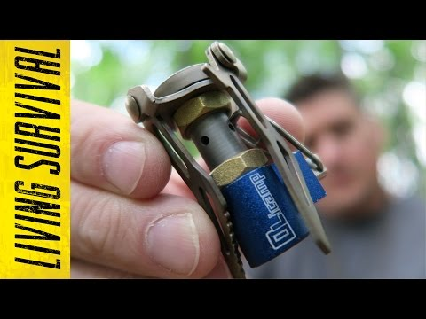 Olicamp Ion Micro Titanium World's Smallest Stove