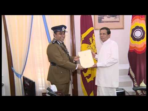 Inspector General of Police Mr pujitha Jayasundara  Apoiment