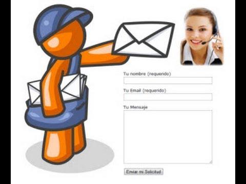 Como Crear un Formulario de Contacto para Wordpress - Contact Form 7 + Trucs