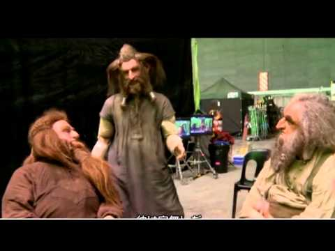 The Hobbit: Behind the scenes - Dori, Nori and Ori