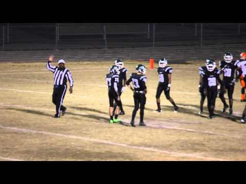 Green Run High School versus Maury High School Football, 11 22 13, Clip 1
