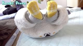 赤ちゃんの高速キック - baby Shadow kick boxing