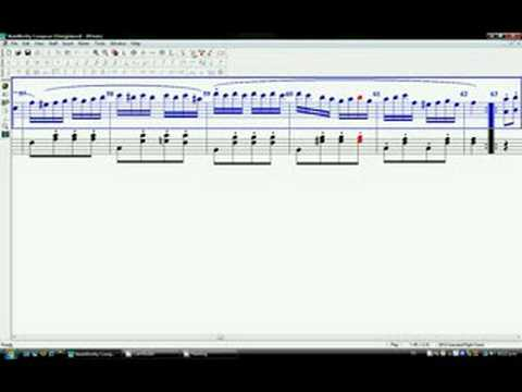 Rondo alla Turca en NoteWorthy Composer
