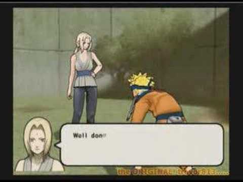 Naruto vs Tsunade from the Ultimate Challenge/Contest