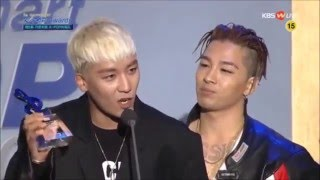 Seungri's speech at Gaon awards (eng sub)