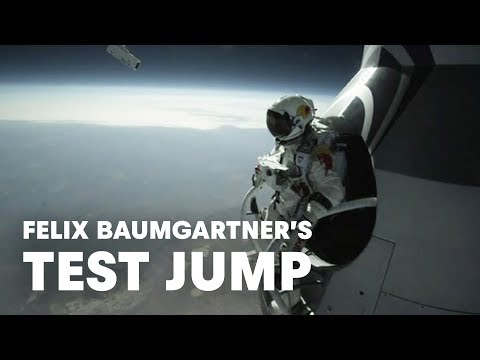 Felix Baumgartner's Test Jump - Red Bull Stratos