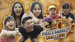 Pirate Barrel Challenge - JinnyboyTV
