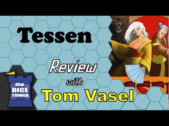 Tessen Review - with Tom Vasel