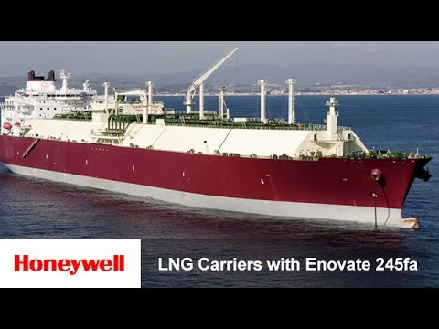 Insulating LNG Carriers with Enovate 245fa | Training | Honeywell